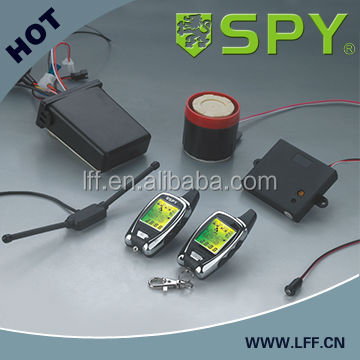 Hot selling two way LCD motorcycle alarm