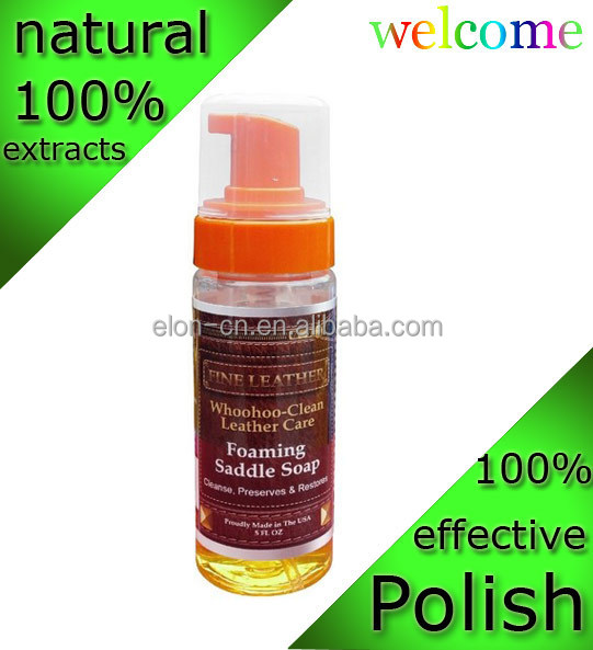 Leather furniture/sofa polisher&cleaner, rich foaming