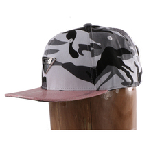 blank short brim high crown hemp closed back closure custom metal 3d letters plate snapback hat no minimum for small heads