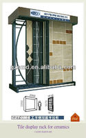 Double side tile display stand