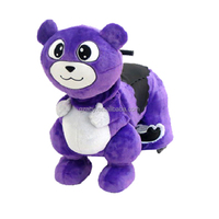 electric riding toys kid riding panda toy, motorized kind animal toy