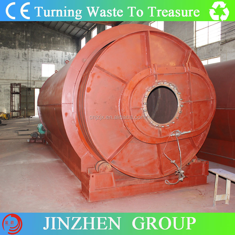 Tyre to Oil Pyrolysis Plant/oil extracting using waste tyre/crude residual oil