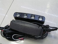 20W Car Led Daytime Running Light 10 Led DRL Daylight IP67 Waterproof Aluminum Grill LED Driving Light with Controller
