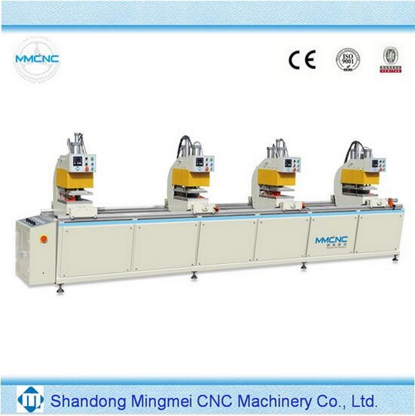 UPVC window production line pvc window fabrication machine for pvc window frames used