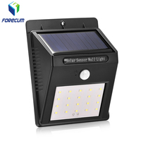 Outdoor Super Bright 20led Garden Light Wireless Waterproof Solar Power Security Lights