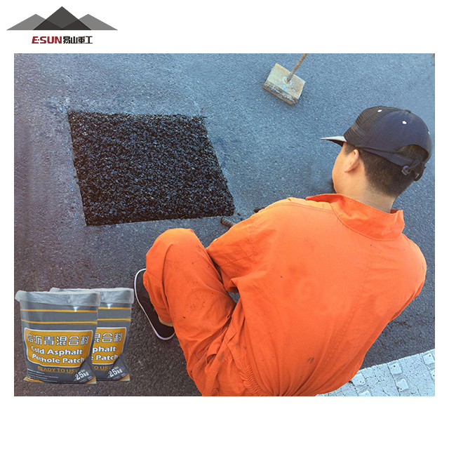 Road construction cold patch asphalt road construction bitumen material road construction bitumen