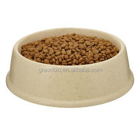Bamboo disposable Food Water pet bowl