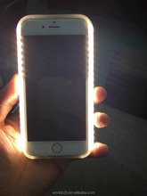 Led light up Illuminated Cell Phone Case for iphone 6 6S