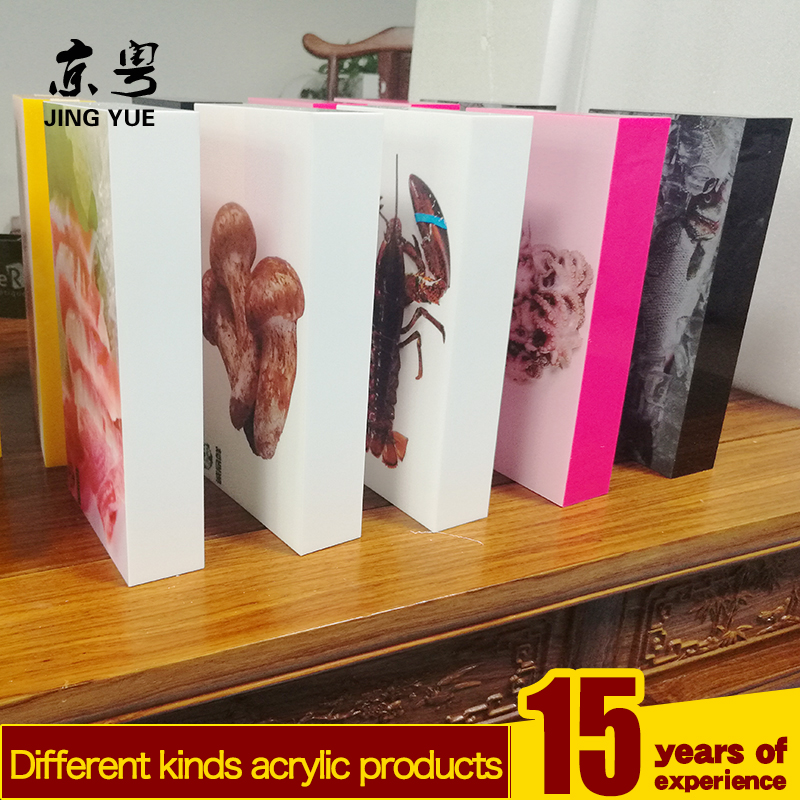 Acrylic Cubes Thick Blocks Solid Acrylic Blocks Stamp Blocks,Food display case