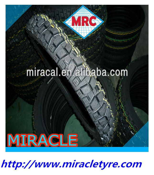 CHINESE MRC Brand top technology off road tubeless motorcycle tyre motorcycle tire and inner tube 2.75-17 for high way