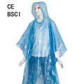 Emergency Rain Poncho with Hood for Travel Trailblazing Picnics Camping School Sporting Corporate Events