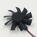 DC brushless frameless fan for computer graphics card