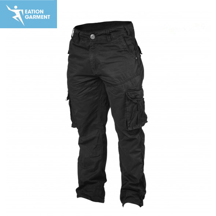 men black cargo pocket sweatpants reinforced crotch workout crossfit pants