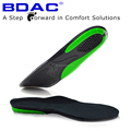 TPE gel shock absorption sport shoe insole print logo