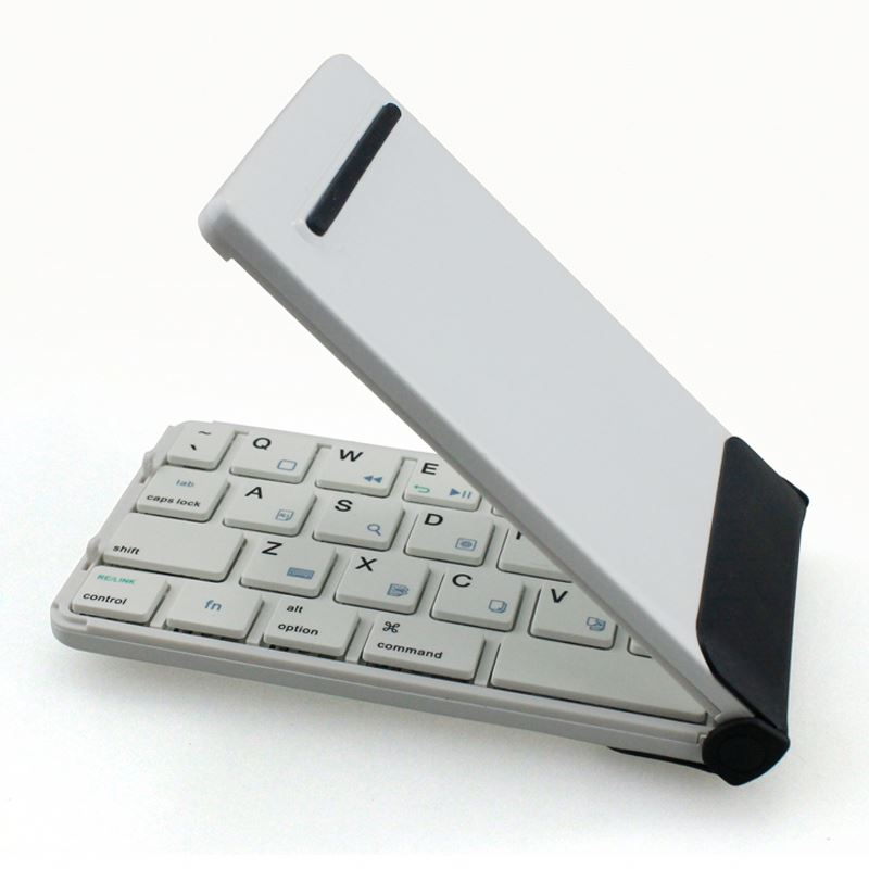 Mini Wireless Keyboard, Folding Wireless Bluetooth Keyboard For Ipad