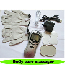 Digital Therapy Machines electric body tens massager mini massager with gloves