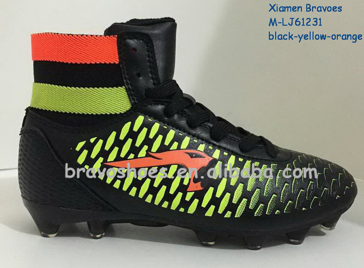 Most Popular Design Outdoor Football Shoes High Ankle