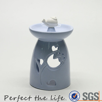 Snail Ceramic essential incense oil burner