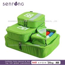 custom all kinds of packing cubes/Travel Cube Organizer kids travel trolley bag