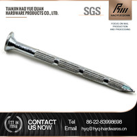 hard steel galvanized bamboo joint nail with low price