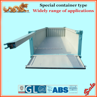 20ft / 30ft / 40ft soft (tarpaulin) & hard top marine half height container