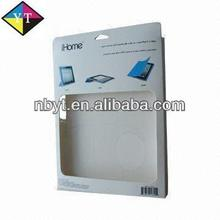 2013 New Designed Colored Paper Box/Smart Book for iPad with Front Window