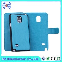 OEM 2015 Detachable Wallet Leather Card Slot Holder Mobile Phone Cases for Iphone 5 5S