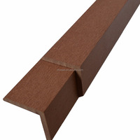 Wood plastic composite edge cover, trim, side covering WPC Side Cover 45*45