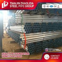 hot dipped galvanized steel pipe&tube building materials rectangular hollow tube