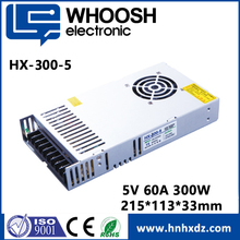 LED driver 5V 60A 80A slim power supply for full color LED display