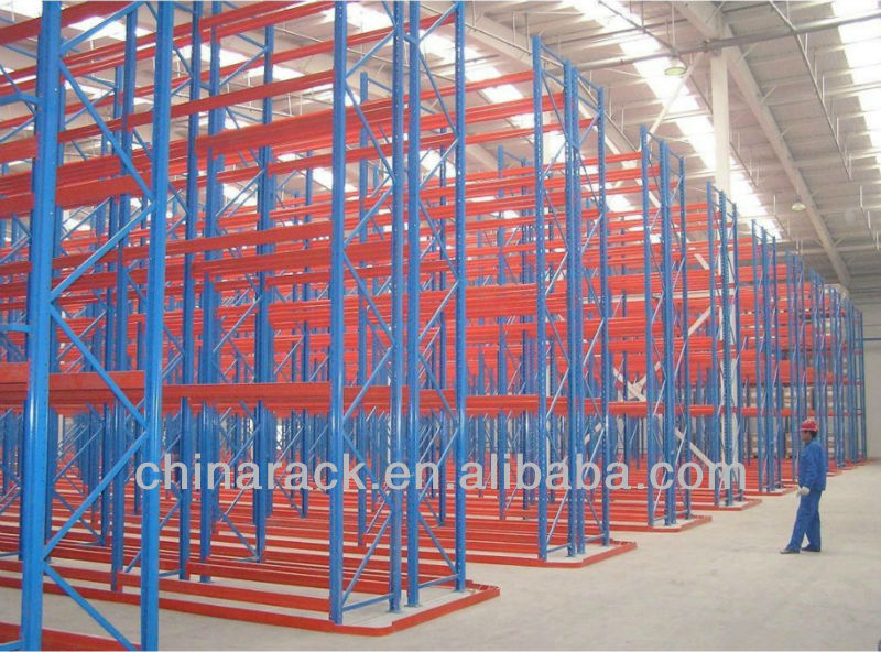 storage equipment warehouse pallet rack,very narrow aisle selective warehouse rack