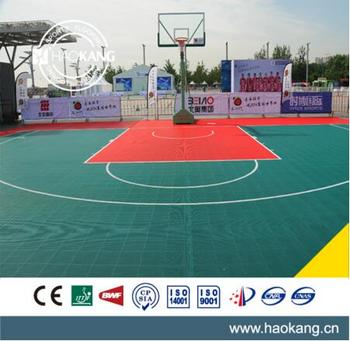 Multi Functional Colorful Modular Interlocking Sports Court Floor