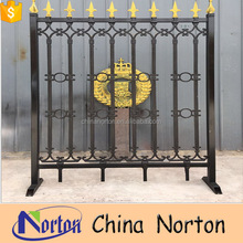 Hot dipped galvanized ornamental cast iron fence barrier panels NT-CIB006