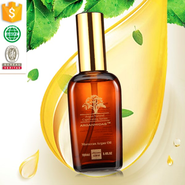 China suppliers hairt treatment relaxer hair olive oil argan oil for women