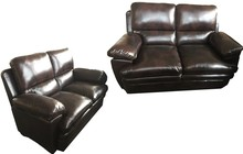 Singapore living room chesterfield 321 sofa black leather sectional sofa