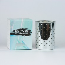 Top Quality Customized glass jar candle holder