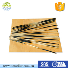 Golden supplier disposable party skewers for spiral potatoes with custom package
