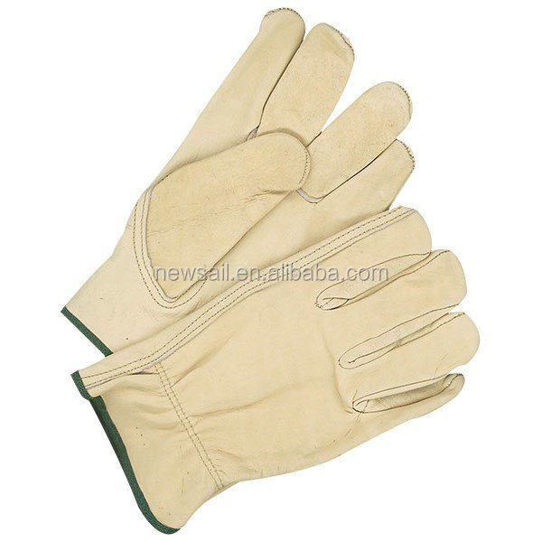 NEWSAIL cheap leather driver working gloves/keystone thumb gloves
