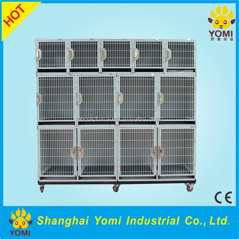 Pet Fair YM-JY-001CE Certificate iron or stainless steel dog cage