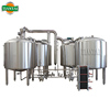 beer processing commercial beer plant 2000L, 2500L, 3000L, 3500L, 5000L per batch