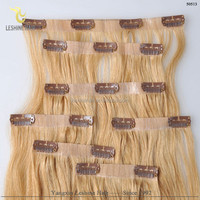 2015 Best selling wholesale!!! no shedding remy full cuticle 100%human remy hot clip sex