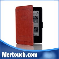 Colorful flip pu leather case for Amazon Kindle Paperwhite tablet pc case wallet cover case