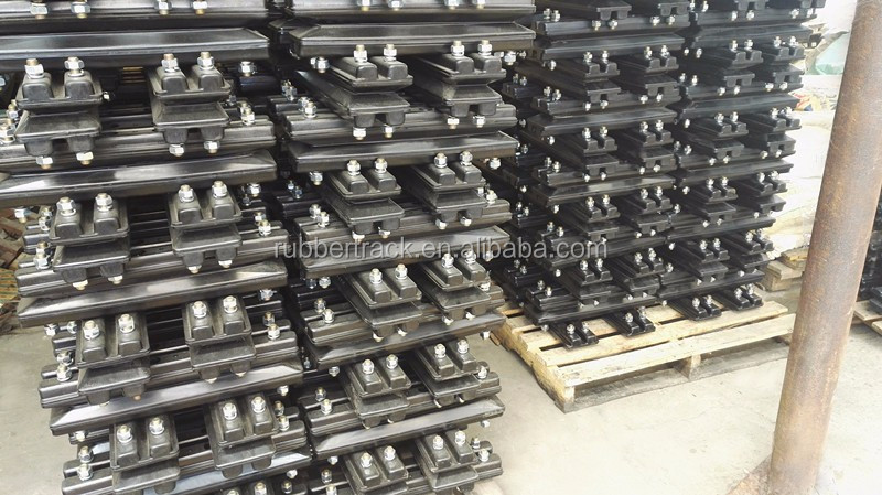 Manufacture Rubber Track Shoe/Pad For Construction Machinery
