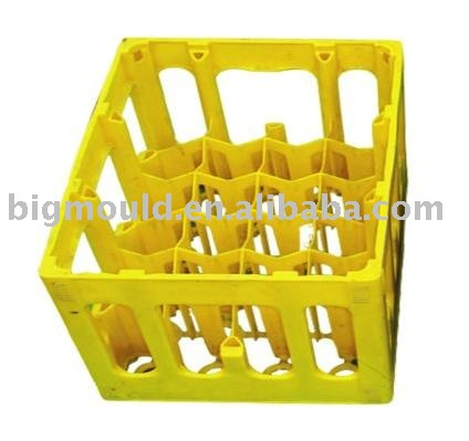 Injection Plastic 24 Bottles Beer Crate Mould