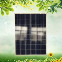 High effciency high quality 24v 170w poly solar panel with cheap price