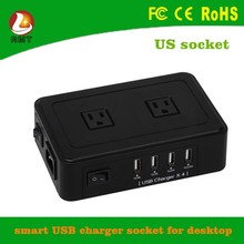manufacturing supply ! Multi electrical wire extension cord cable reel switch and socket with usb port