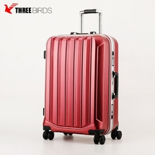 "Professional manufacturer for 20"" 24"" 28"" PC 360 degree hard suitcase Famous Brand PC ABS Luggage"