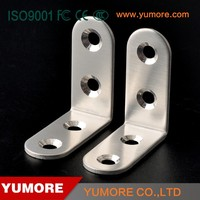 Competitive price wall mounted bedroom furniture L shape stainless steel brackets