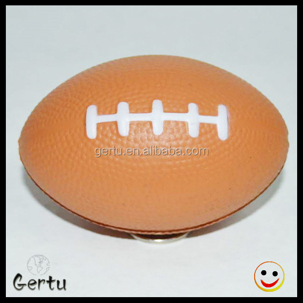 Logo printed Foam mini size American football