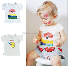 Z53513B The new fashion t shirt Printing kids t shirt